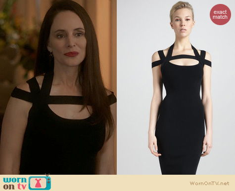 Revenge Fashion: Michael Kors Fitted Dress worn by Madeleine Stowe