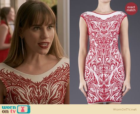 Revenge Fashion: RVN Phoenix Dress worn by Christa Allen