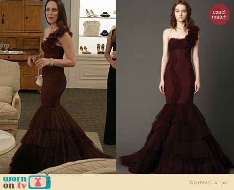 Revenge Fashion: Vera Wang Kaye Dress worn by Madeleine Stowe