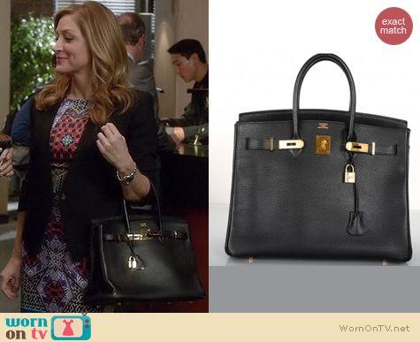 Rizzoli & Isles Bags: Hermes Birkin bag worn by Sasha Alexander