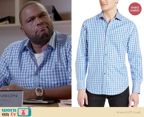 Robert Graham Bugspray Shirt worn by Anthony Anderson on Black-ish