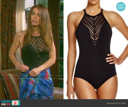 Robin Piccone Sophia Swimsuit worn by Kristian Alfonso on Days of our Lives