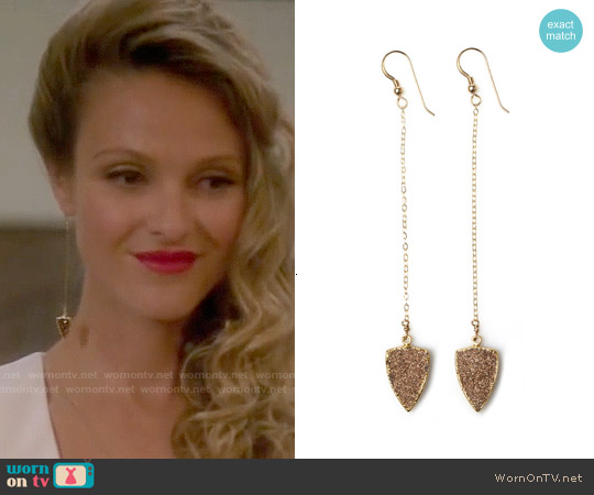 Robyn Rhodes Liam Earrings worn by Beau Garrett on GG2D
