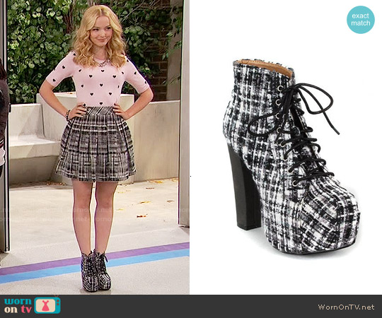 Shoe Republic LA Rockland Boots worn by Dove Cameron on Liv & Maddie