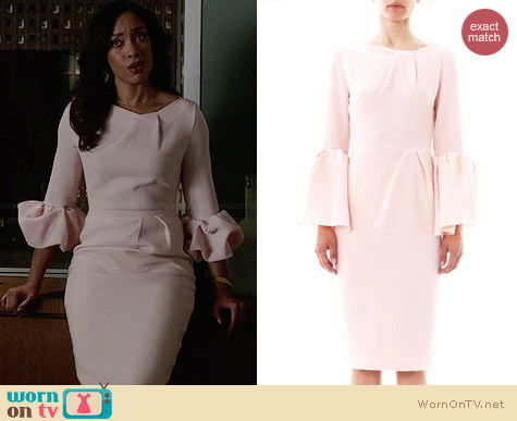 Roksanda Ilincic Margot Wool Dress worn by Gina Torres on Suits