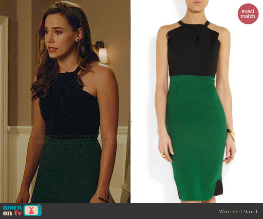 Roland Mouret Abbotsford Dress worn by Christa Allen on Revenge