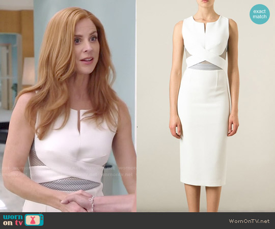 Roland Mouret Betley Dress worn by Sarah Rafferty on Suits