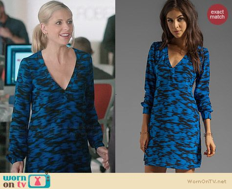 Rory Beca Roder Open Back Dress worn by Sarah Michelle Gellar on The Crazy Ones