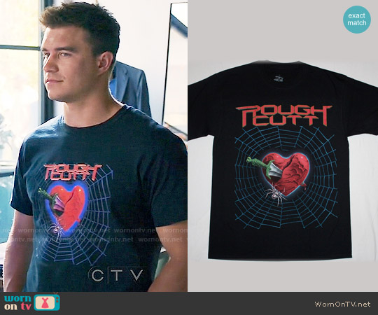 Rough Cutt T-shirt worn by Rob Mayes on Mistresses