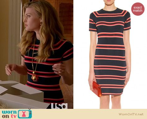 Royal Pains Fashion: A.L.C. Thompson dress worn by Brooke D'Orsay