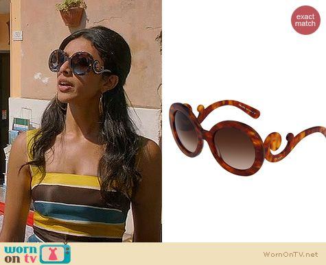 Royal Pains Fashion: Prada 27NS Sunglasses worn by Reshma Shetty