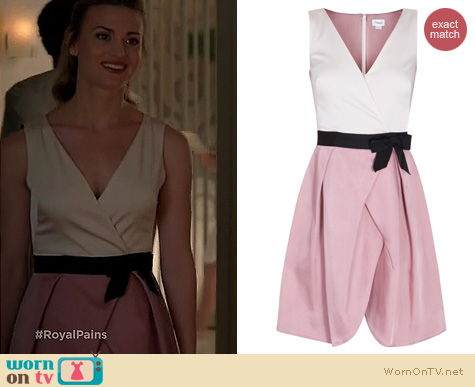 Royal Pains Fashion: Temperley London Brook Dress worn by Brooke D'Orsay