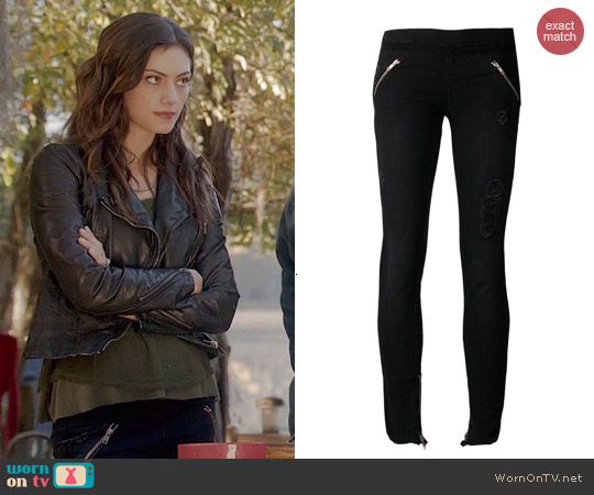 RTA Skinny Leggings worn by Phoebe Tonkin on The Originals