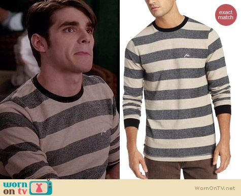 Rusty New Moon Shirt worn by RJ Mitte on Switched at Birth