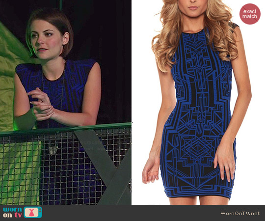 RVN Tron Dress worn by Thea Queen on Arrow