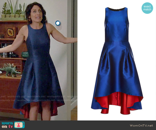 Sachin + Babi Amaryllis Dress worn by Lisa Edelstein on GG2D