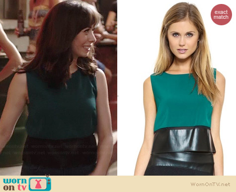 Sachin & Babi Jovi Top worn by Cristin Milioti on A to Z