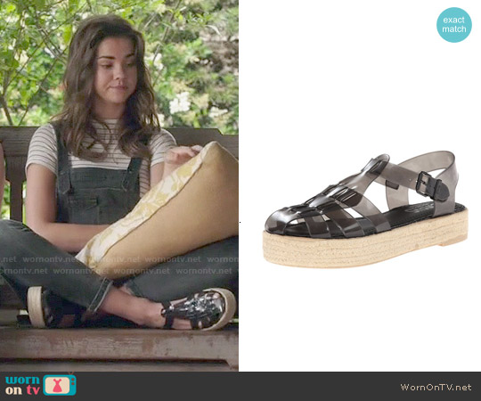Sam Edelman Gotham Platform Sandals worn by Callie Jacob on The Fosters