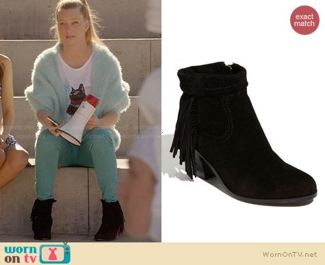 Sam Edelman Louie Boots worn by Heather Morris on Glee