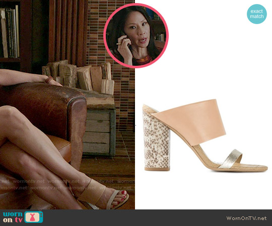 Sam Edelman Yoselin Sandal worn by Joan Watson on Elementary