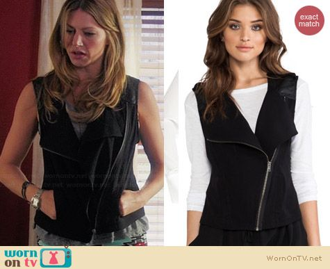 Sanctuary Soft City Vest worn by Jess Macallan on Mistresses