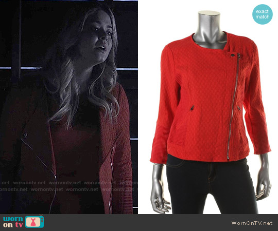 Sanctuary Textured Asymmetric Jacket worn by Sasha Pieterse on PLL