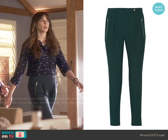 Sandro Polina Pants worn by Troian Bellisario on PLL