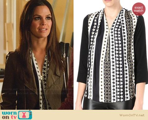 Sandro Epicure Top worn by Rachel Bilson on Hart of Dixie