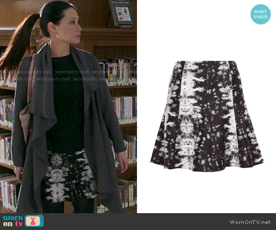 Sandro Julia Skirt worn by Joan Watson on Elementary