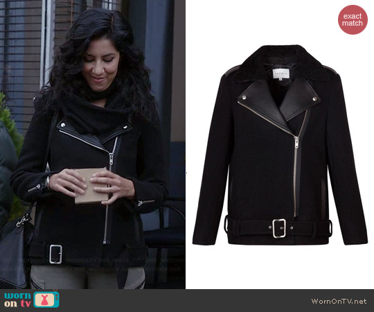 Sandro Mielleuse Jacket worn by Stephanie Beatriz on Brooklyn 99