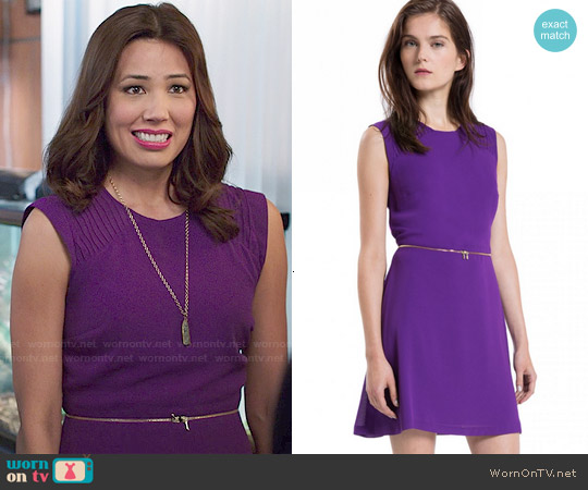 Sandro 'Ravissante' Dress worn by Michaela Conlin on Bones