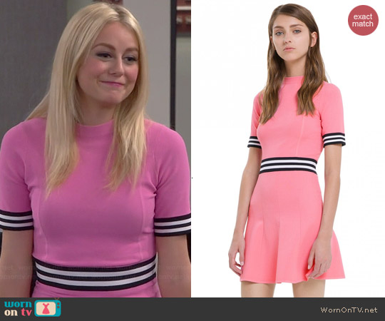 Sandro Rayana Dress worn by Justine Lupe on Cristela