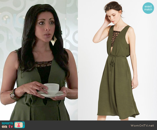Sandro Religione Dress worn by Reshma Shetty on Royal Pains