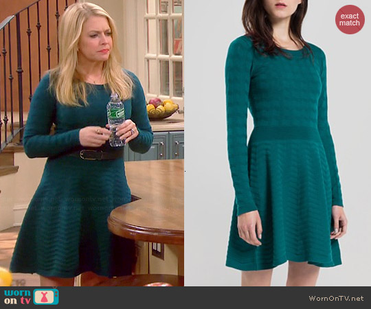 Sandro Ricarda Dress worn by Melissa Joan Hart on Melissa & Joey