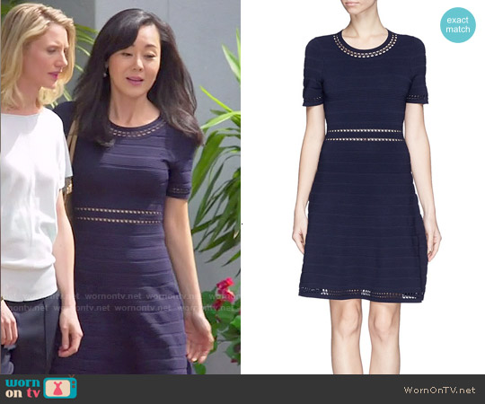 Sandro Riley Dress worn by Yunjin Kim on Mistresses
