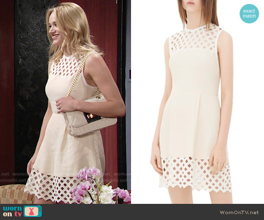 Sandro Rita Dress worn by Hunter King on The Young & the Restless