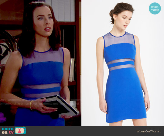 Sandro Rocket Dress worn by Ashleigh Brewer on The Bold & the Beautiful