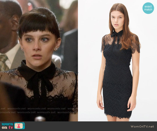 Sandro Rozen Dress worn by Aubrey Peeples on Nashville