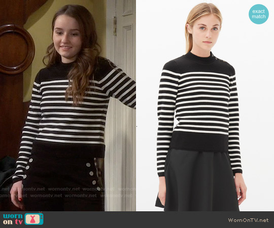 Sandro Saba Jumper worn by Kaitlyn Dever on Last Man Standing