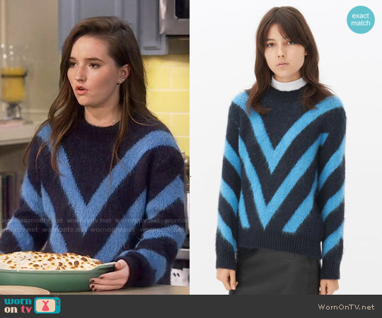 Sandro Stooges Jumper worn by Kaitlyn Dever on Last Man Standing