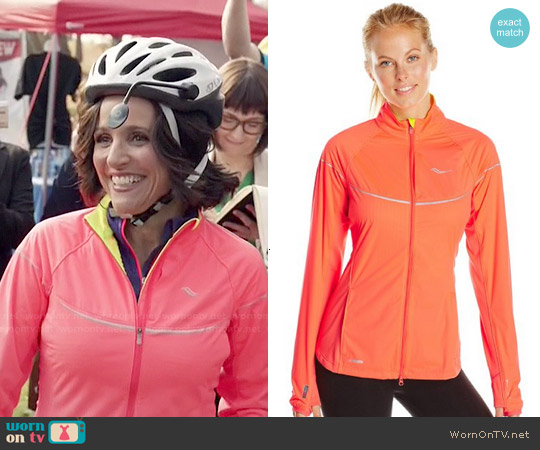 Saucony Nomad Jacket worn by Julia Louis-Dreyfus on Veep