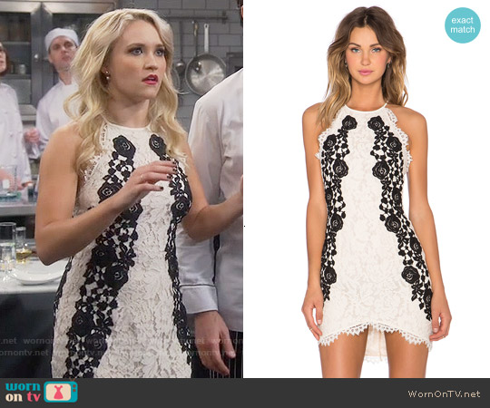 Saylor Alexis Dress worn by Emily Osment on Young & Hungry