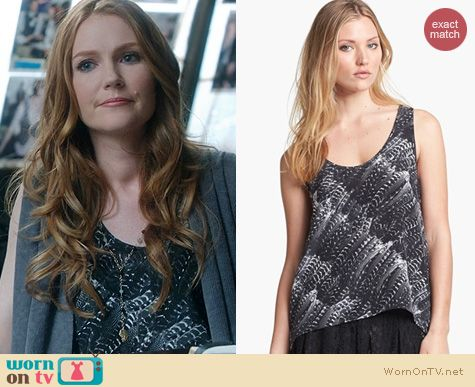 Scandal Fashion: Joie Fiala Tank worn by Darby Stanchfield