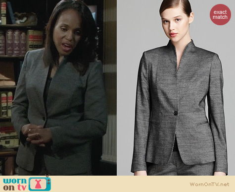 Fashion of Scandal: Max Mara Ubalda Blazer worn by Kerry Washington
