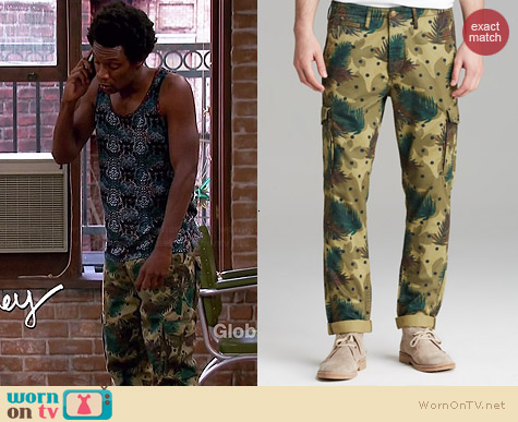 Scotch & Soda Camo Dot Cargo Pants worn by Seaton Smith on Mulaney