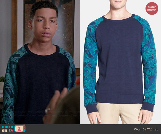 Scotch & Soda Mix & Match Sweatshirt worn by Marcus Scribner on Black-ish