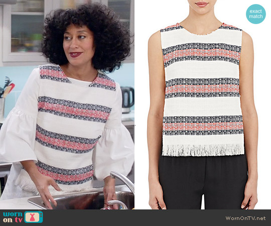Sea Tweed Top worn by Tracee Ellis Ross on Blackish