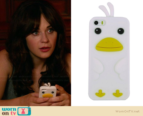 Secret Life Cute Duck Iphone Cover used by Zooey Deschanel on New Girl