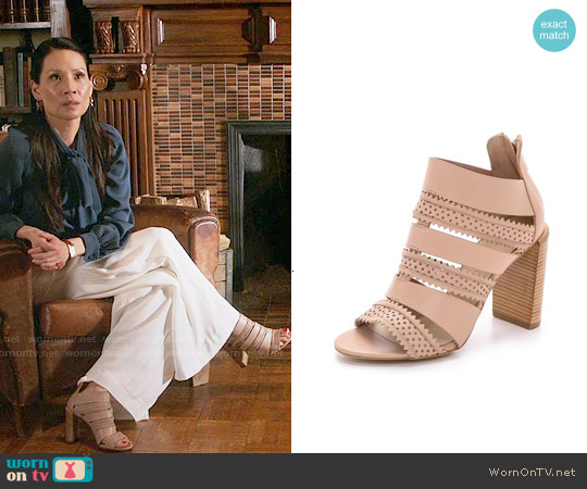 See by Chloe Star Perforated Sandals worn by Lucy Liu on Elementary
