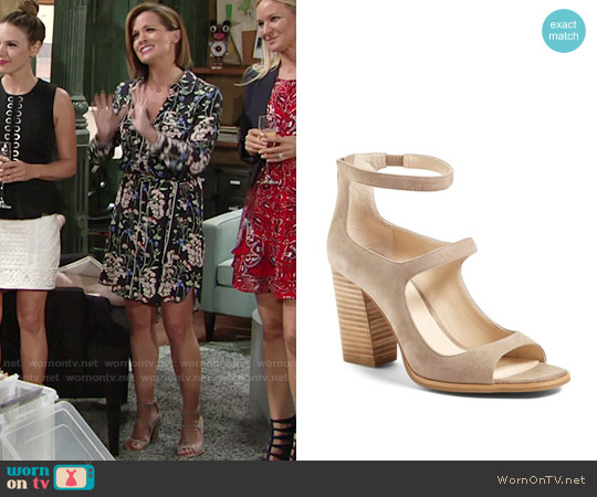 Seychelles Radical Sandal worn by Chelsea Lawson on The Young & the Restless